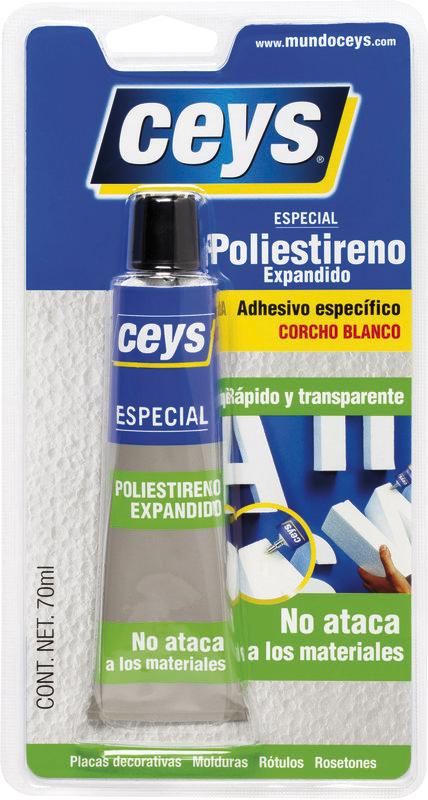 Especial poliestireno expandido ceys - Pegamento para plastico resistente al agua ...