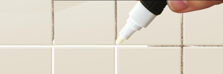 Ceys rotulador blanqueador de juntas blanco antimoho 7 4ml punta fina punta de recambio ceys - Blanquear juntas azulejos ...